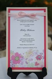 How To Make Invitation Cards At Home How To Make A Baby Shower Invitation Iidaemilia Com