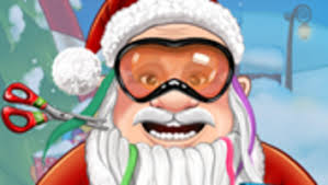 santa u0027s real haircuts primarygames play free online games