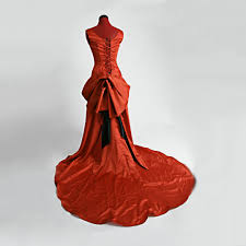 Moulin Rouge Halloween Costume Moulin Smoldering Temptress Satine Red Gown