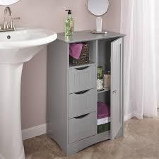 Amazon Bathroom Furniture by Amazon Com Riverridge Ashland Collection 1 Door 3 Drawer Floor