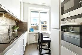 narrow kitchen design ideas long kitchen design thelodge club