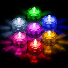 Waterproof Vase Lights Submersible Tea Lights Home U0026 Garden Ebay