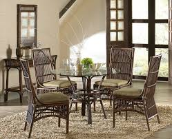 Wicker Living Room Chairs by Bora Bora Rattan Dining Room Set From Panama Jack Hospitality Rattan