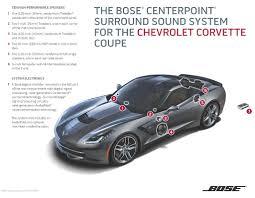c6 corvette stereo upgrade does the c7 corvette s bose stereo corvetteforum