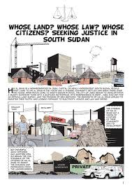 Seeking Preview Comic Preview Seeking Justice In South Sudan Movement