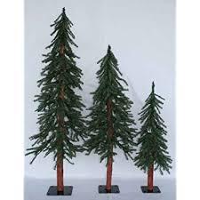 best 28 set of 3 alpine trees alpine unlit slim