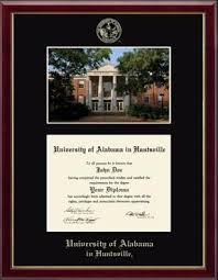 of alabama diploma frame the of alabama huntsville phd cus diploma