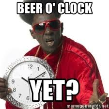 Beer O Clock Meme - beer o clock yet flavor flav clock meme generator