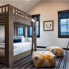 Industrial Bunk Beds Bookcase Next To Bunk Beds Design Ideas