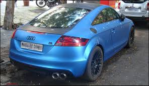 audi modified pics tastefully modified cars in india page 105 team bhp