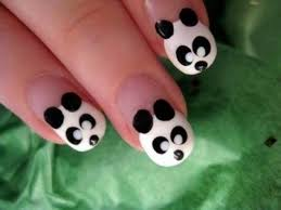 best 25 panda nail art ideas only on pinterest panda bear nails