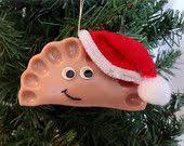 surprised santa pierogi ornament gift ideas