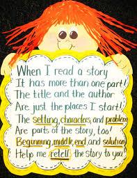 first grade wow retelling stories