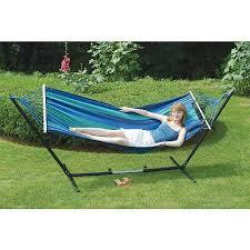 stansport double hammock stand combo walmart com