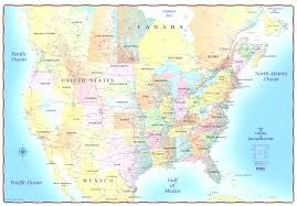 Map Canada And Usa by Map Of Usa Canada Beauteous Map Canada And The Usa Evenakliyat Biz