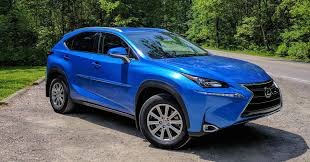 lexus nx blue 2017 lexus nx200t review best value in subcompact luxury suv segment