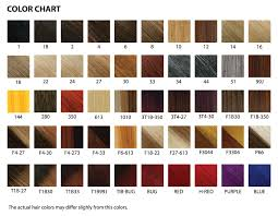 what is kanekalon hair types chart the wigs and hair extensions colour guide