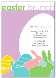 brunch invitation template easter brunch invitation template for free happy easter