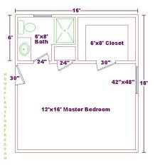 master bedroom plans with bath master bedroom 12x16 floor plan with 6x8 bath and walk in closet