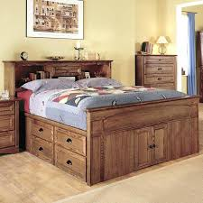 Bookcase Headboard King Queen Bookcase Bed U2013 Getgravity Co