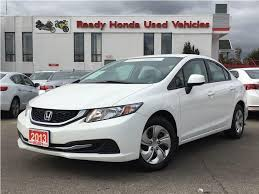 nissan canada finance mississauga used 2013 honda civic lx 2 99 financing for sale in mississauga