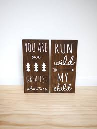 themed signs best 25 nursery signs ideas on woodland room baby
