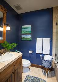Blue And Brown Bathroom by Bathroom Rugs Navy Blue Bathroom Trends 2017 2018