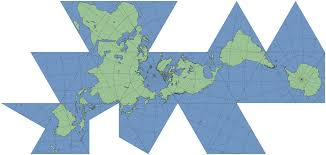 What Is A Map Projection Dymaxion Map Hexnet