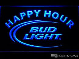 bud light bar light 601 bud light lite beer bar happy hour led neon light sign wholesale
