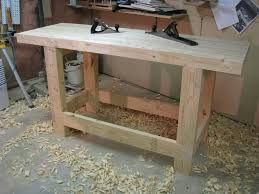 Wood Workbench Plans Free Download by Work Bench Tops Treenovation