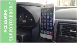 porta iphone auto supporto da auto brodit per iphone 6 recensione