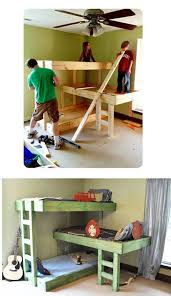 Three Level Bunk Bed 281 Best Kid U0027s Room Images On Pinterest Nursery 4 Bunk Beds And