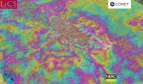 Italy Earthquake Map by Apennines Earthquakes And Aftershocks Italy Comet