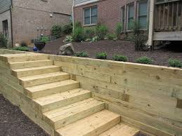 timber retaining wall inspirations for garden u2014 farmhouse design