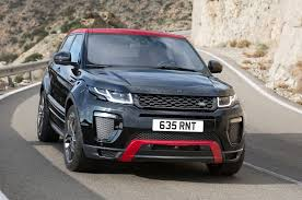 land rover evoque black 2017 range rover evoque gets new tech and special edition model