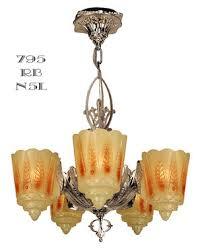 Light Fixtures Chandeliers Vintage Hardware U0026 Lighting Art Deco And Art Nouveau Lighting
