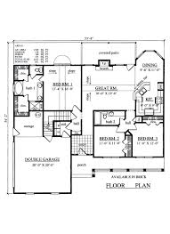 plan42 traditional style house plan 3 beds 2 00 baths 1569 sq ft plan