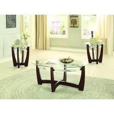 3 piece coffee table set catalina 3 piece coffee table set latitude run