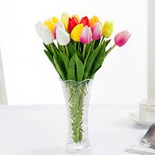 Decorative Flowers For Home by Compare Prices On Silk Tulips Online Shopping Buy Low Price Silk