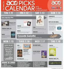 Southland Flooring Supply Lexington Ky by Ace Picks Lexington Ky Calendar July 11 Thru July 17 Ace Weekly