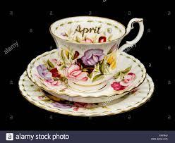 Flower Of The Month Vintage Royal Albert Porcelain