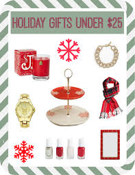 Holiday Gift Ideas by Holiday Gift Ideas Under 25