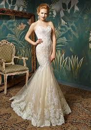 blue wedding dress designer blue by enzoani wedding dresses