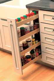 Kitchen Cabinet Storage Shelves Kitchen Cabinets Spice Rack Pull Out Home And Interior