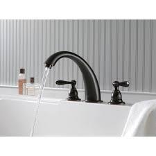 delta victorian bathroom faucet delta windemere roman tub faucet oil rubbed bronze best faucets