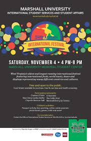 marshall international festival office of international