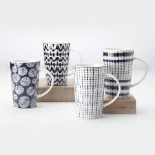 maxwell williams 4 shibori coffee mug set reviews wayfair