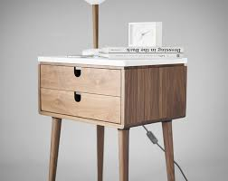 Nightstand With Drawer Nightstand Bedside Habitables