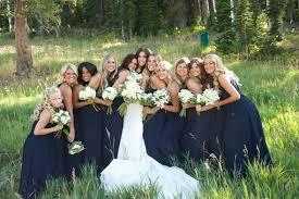 bridesmaid dresses for summer wedding navy bridesmaids dresses for summer wedding in park city