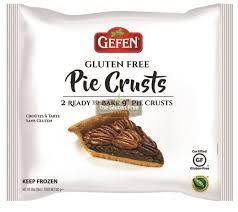 gluten free passover products gefen gluten free pie crust new new products gluten free